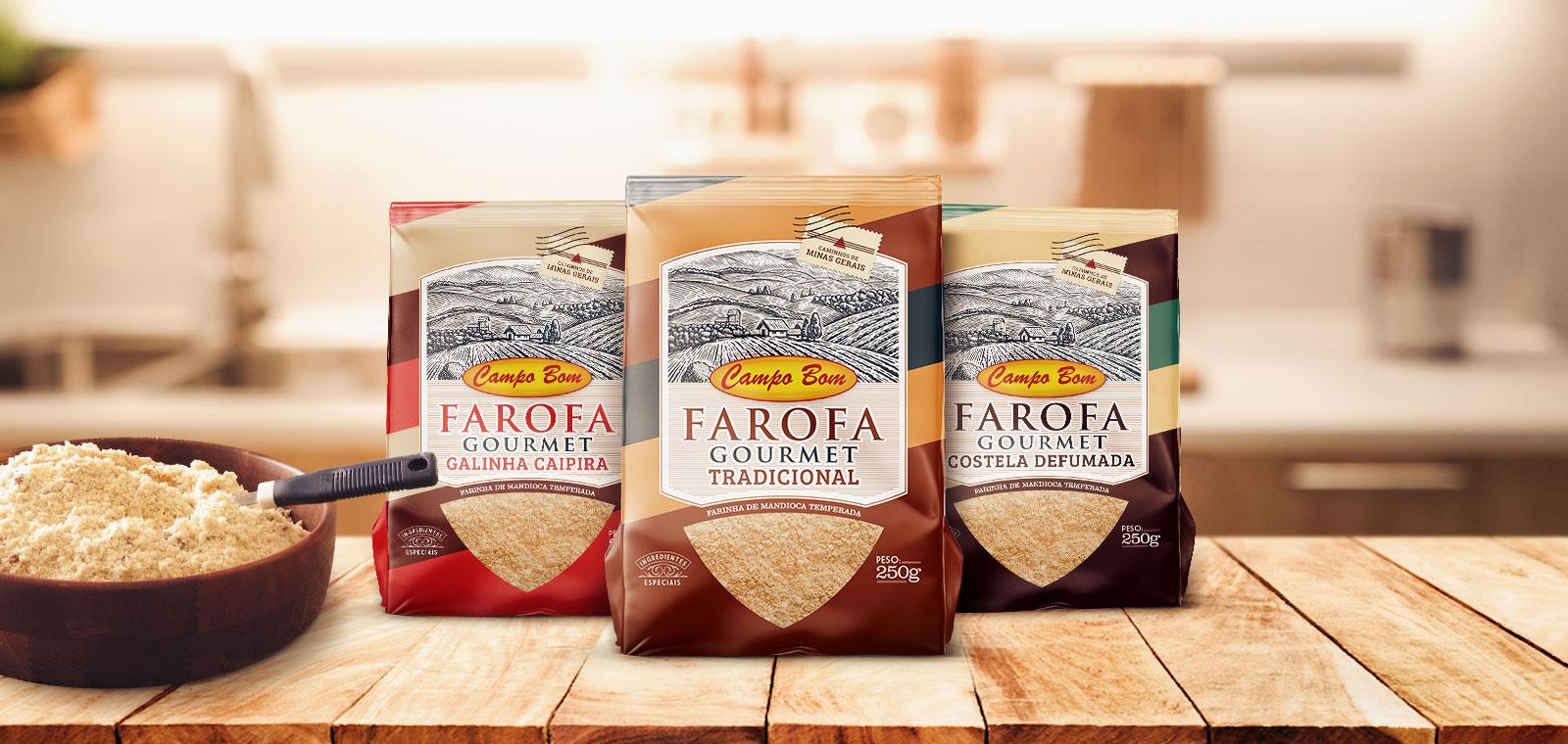 Farofa Gourmet Campo Bom